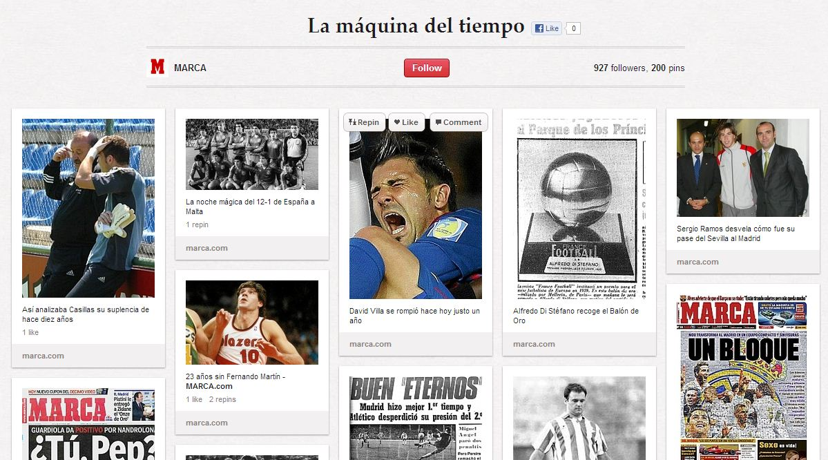 MArca machine a remonter le temps