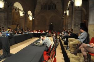 L'ensemble des rencontres des journalistes de demain. Crédit Photo : Alexandre La Monaca