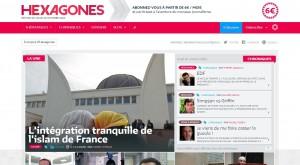Hexagone traite des sujets sociétaux, comme l'intégration de l'islam en France./ Capture d'écran