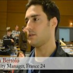 [Vidéo] Réaction de Mathieu Bertolo, community manager à France 24