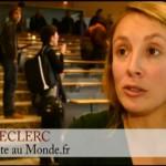 [Vidéo] 3 questions à Aline Leclerc, journaliste au Monde.fr