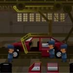 Le joueur peut tester les modèles économiques des repreneurs dans cette simulation de chaîne de montage.