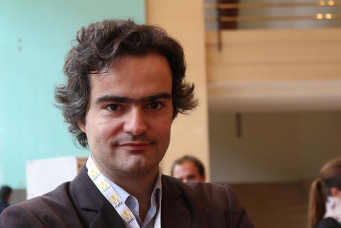 Laurent Mauriac, créateur du nouveau média Brief.me, et co-fondateur de Rue89
