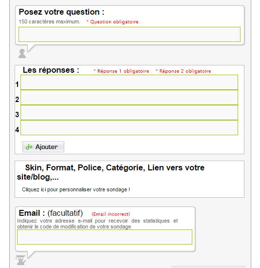 creer un questionnaire imprimable