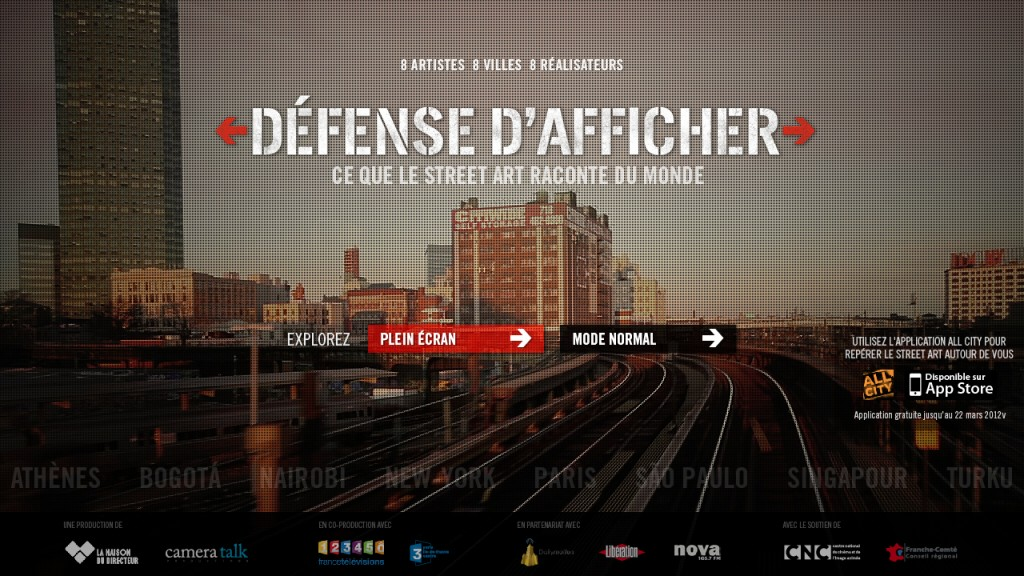Défense d'Afficher - Homepage