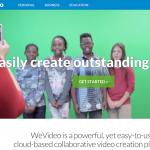 WeVideo : une autre façon d'éditer