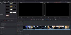 L'ensemble des vidéos d'Adobe Première Pro sous Da Vinci Resolve.