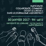 Entretiens du webjournalisme 2017: le programme complet!