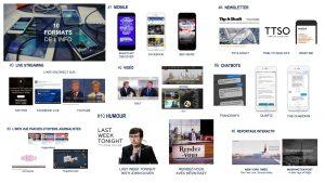 Pour Éric Scherer, le futur de l'information s'envisage à travers 10 formats auxquels les médias numériques doivent s'adapter.