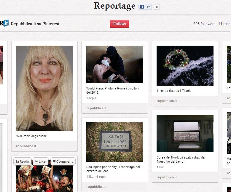 Repubblica reportages
