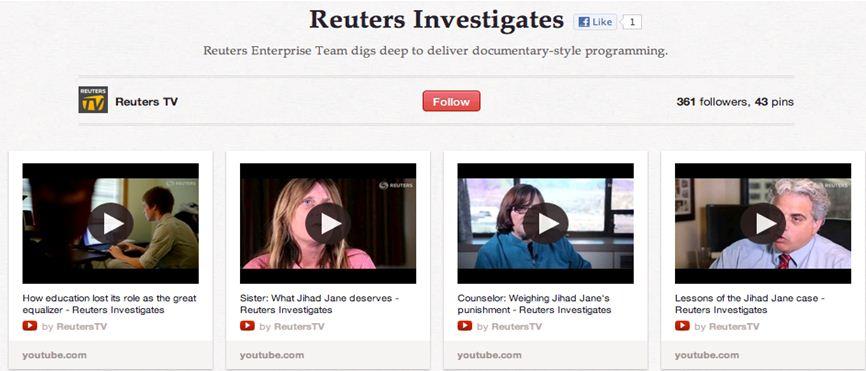 Reuters vidéos