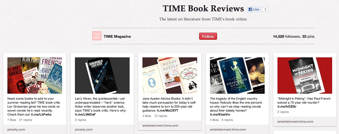 Time book reviews