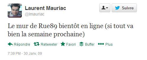 2009 janv Mauriac