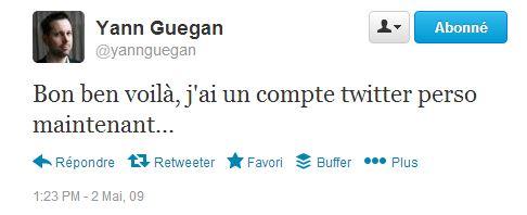 2009 mai Guegan