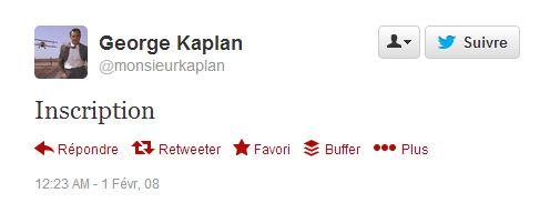 first tweet fev 2008 Kaplan 01
