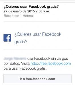 Voulez-vous utiliser Facebook gratuit?