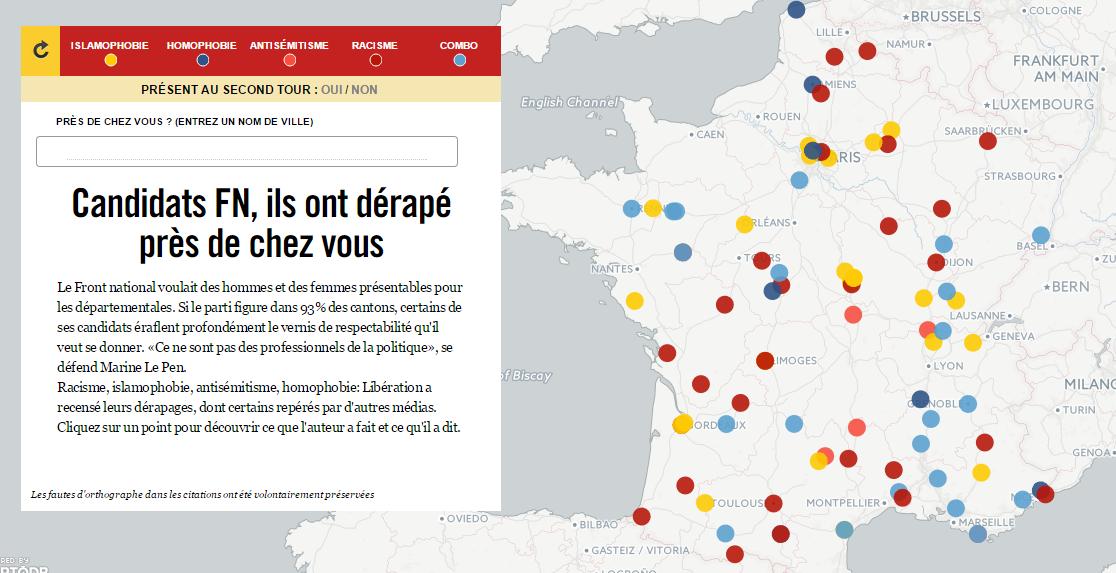 Mapbox et Libération
