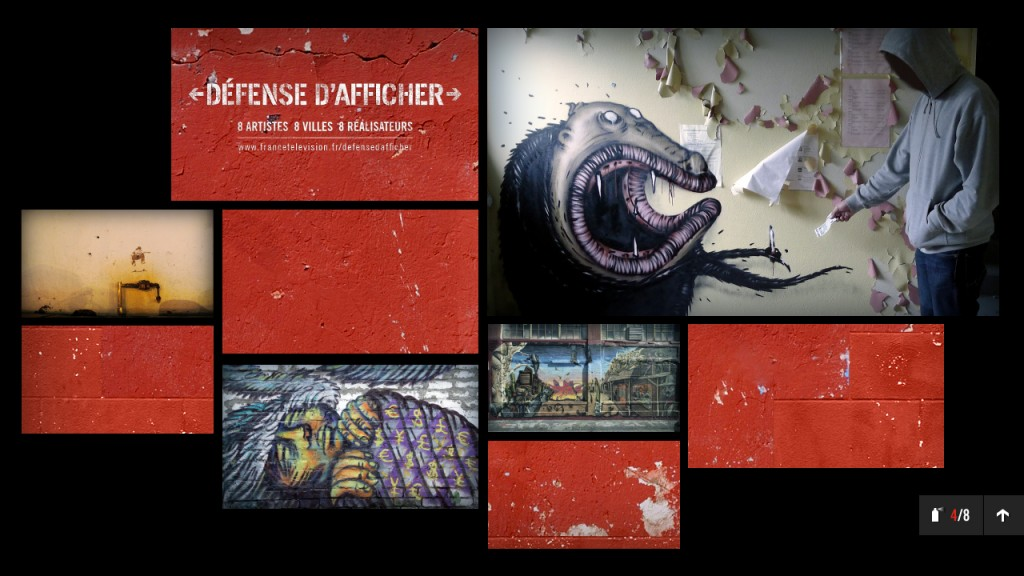 Défense d'Afficher - Mosaique
