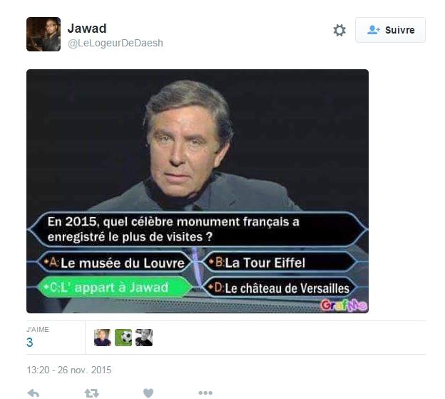 Twitter parodie Daech