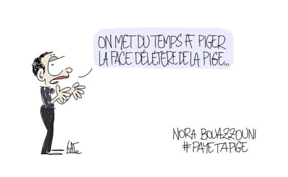 Nora Bouazzouni, par Catherine Créhange